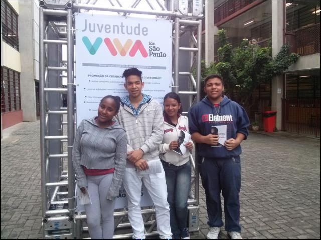 Centro para Juventude Henrique Guedes participa do lançamento do Juventude Viva